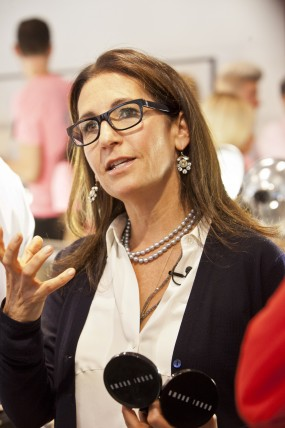 Bobbi Brown, professional makeup artist and founder of Bobbi Brown Cosmetics