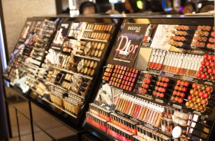 Dior make-up in Harrods