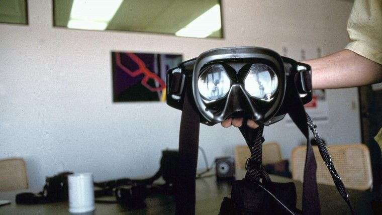 1990 original Virtual Reality goggles