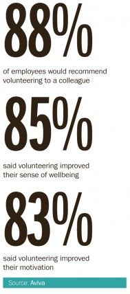 Employee Volunteering Sentiment Statistics
