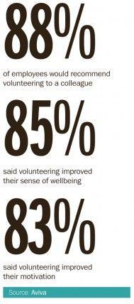 Employee Volunteering Sentiment Statistics