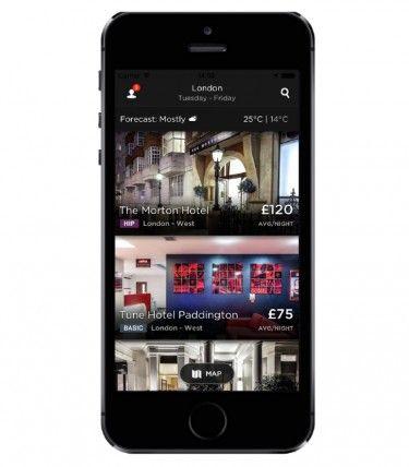 Hotel Tonight App