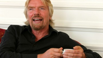 richard branson human side