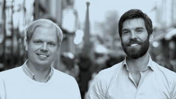 Universal Avenue co-founders Johan Lilja and Petter Hederstedt