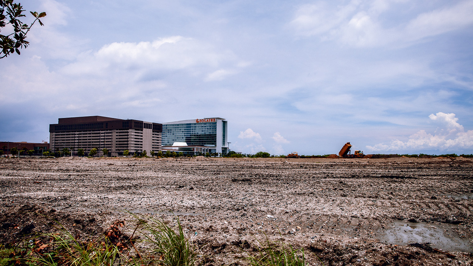 Manila's Entertainment City is still under construction, and hopes to attract Asia's gambling elite