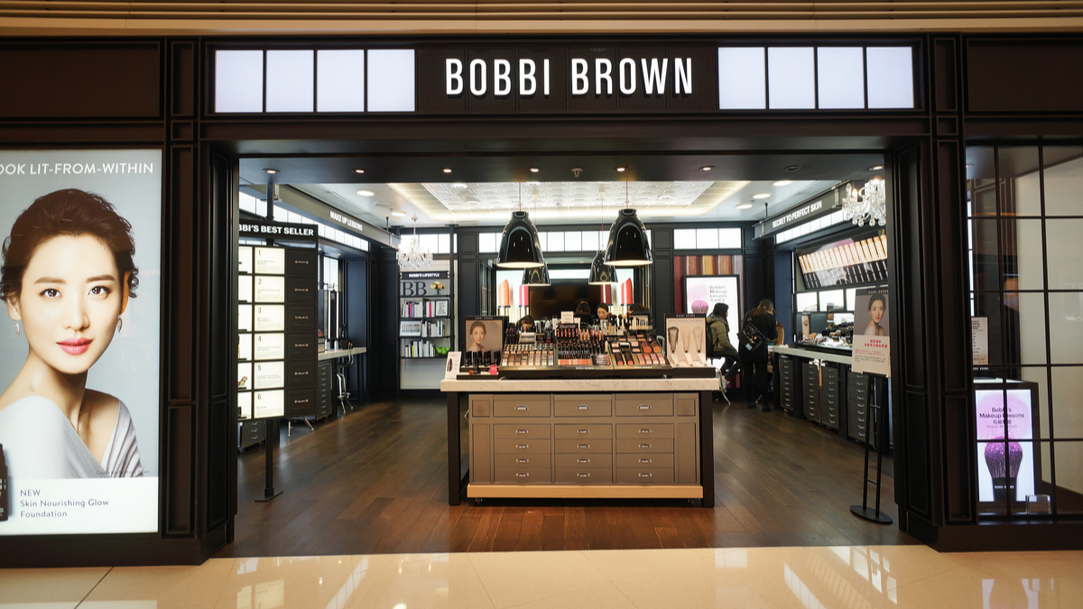Beauty industry icon bobbi brown shop front