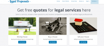 Legal Proposals Homepage