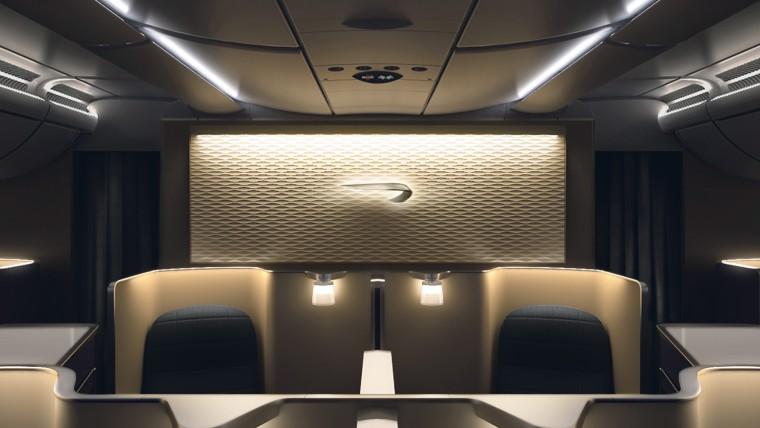 British Airways first class cabin