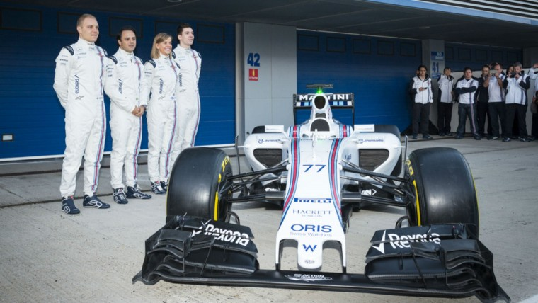 Williams team line-up