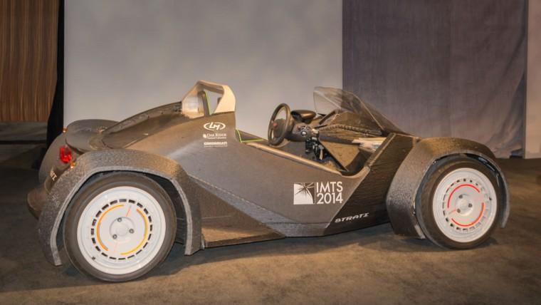 3D-printed concept car