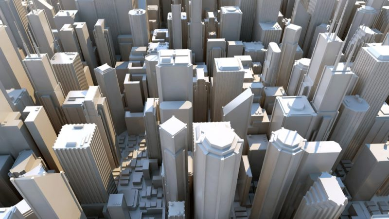 3D model of city shows new building innovation for civil engineers