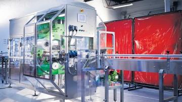 TrakRap secondary packaging machine