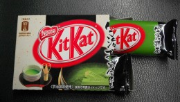 Green tea-flavoured KitKat available in Japan