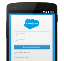 Salesforce mobile app