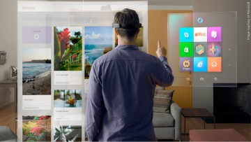 Augmented reality versus virtual reality