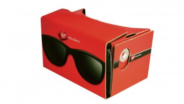 Virgin's Google Cardboard enables customers to experience a virtual tour before booking a holiday