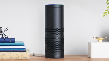 Amazon Echo voice-control smart home device