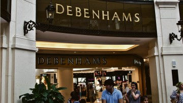 Debenhams has 68 franchised stores across 25 countries, such as this one at Mall of the Emirates in Dubai