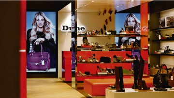 New York franchise store of Dune, which has 80 franchised outlets in 14 countries