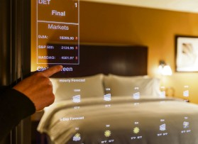 Four Points by Sheraton is developing smart mirror technology in its hotel rooms