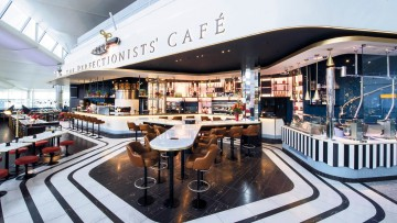 Heston Blumenthal's restaurant, The Perfectionists' Café, at Heathrow Terminal 2