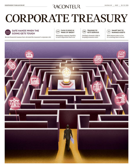 Corporate Treasure Special Report cover