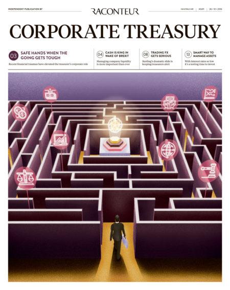 Corporate Treasure Special Report cover