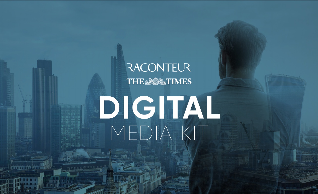 Raconteur Digital Campaigns media kit cover