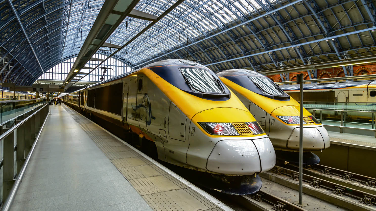 Eurostar's customer satisfaction text messages arrive as travellers pull into their destination station