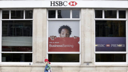 HSBC high street bank