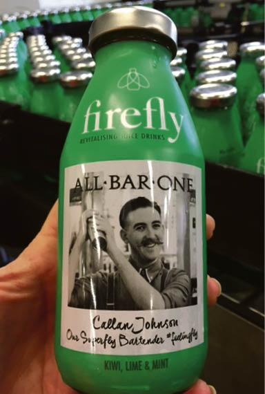 Firefly all-bar-one bottle
