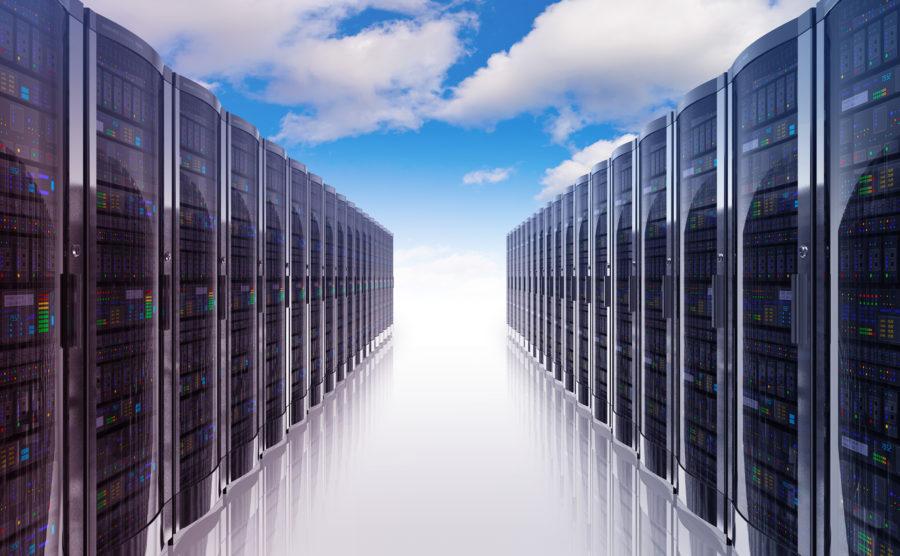 Futuristic data centre