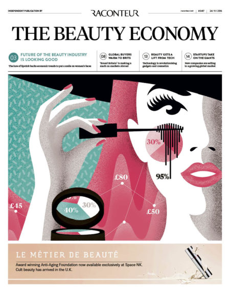 The Beauty Economy 2016 special report cover