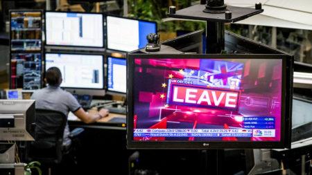 Brexit leave campaign screen