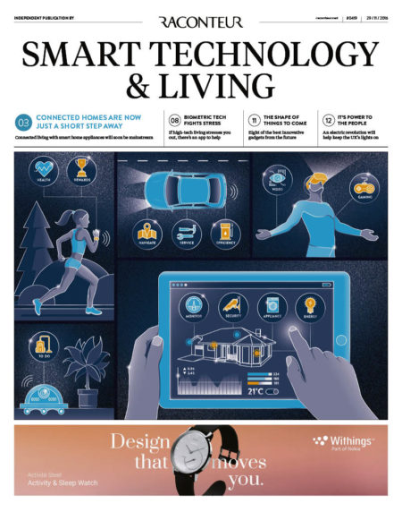 Smart Technology and Living Special Report cover