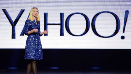 Marissa Mayer of Yahoo
