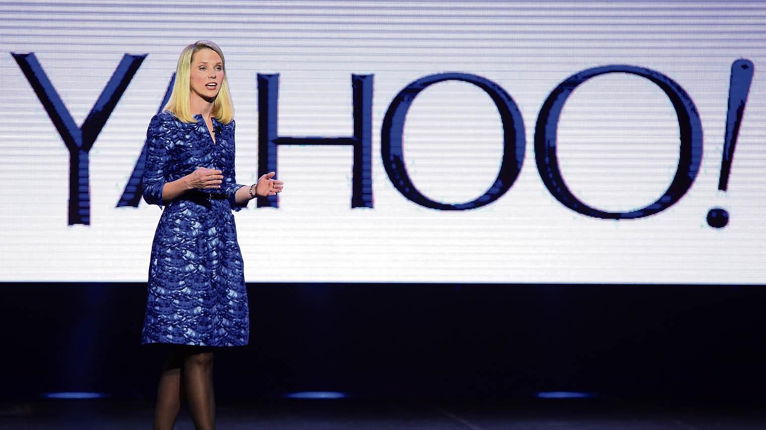 Marissa Mayer of Yahoo