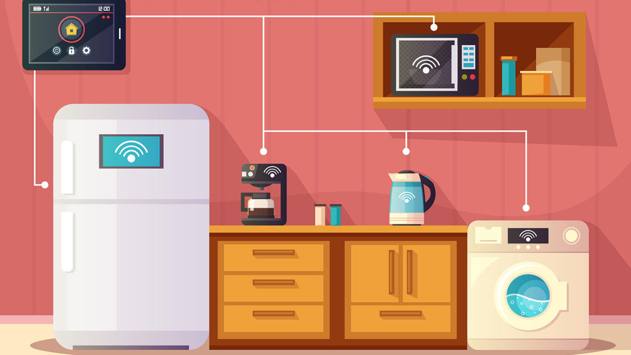 connected smart kitchen