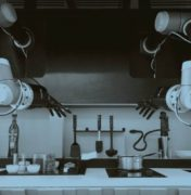 Smart robotic kitchen