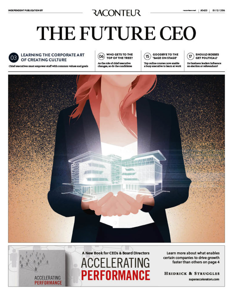 The Future CEO Special Report cover