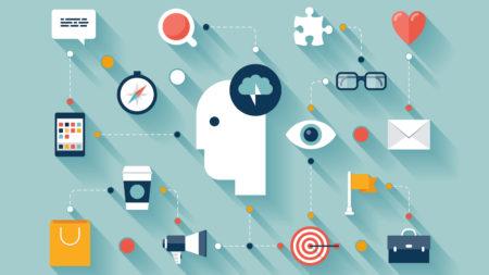 Illustration of creative thinking