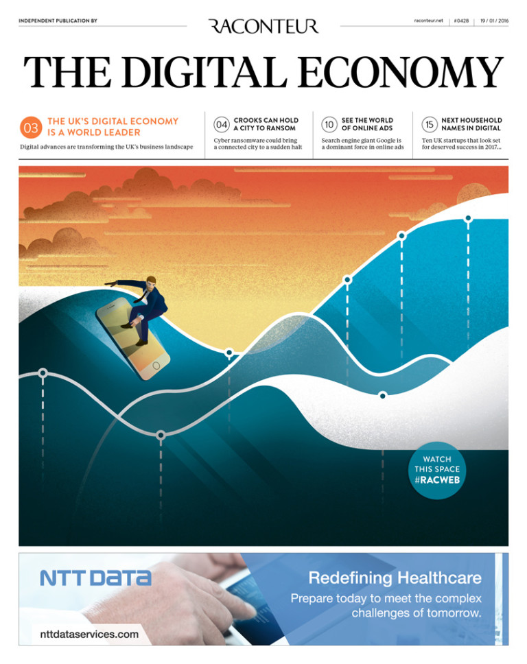 The Digital Economy 2017 special report cover