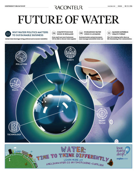Future of Water Special Report cover