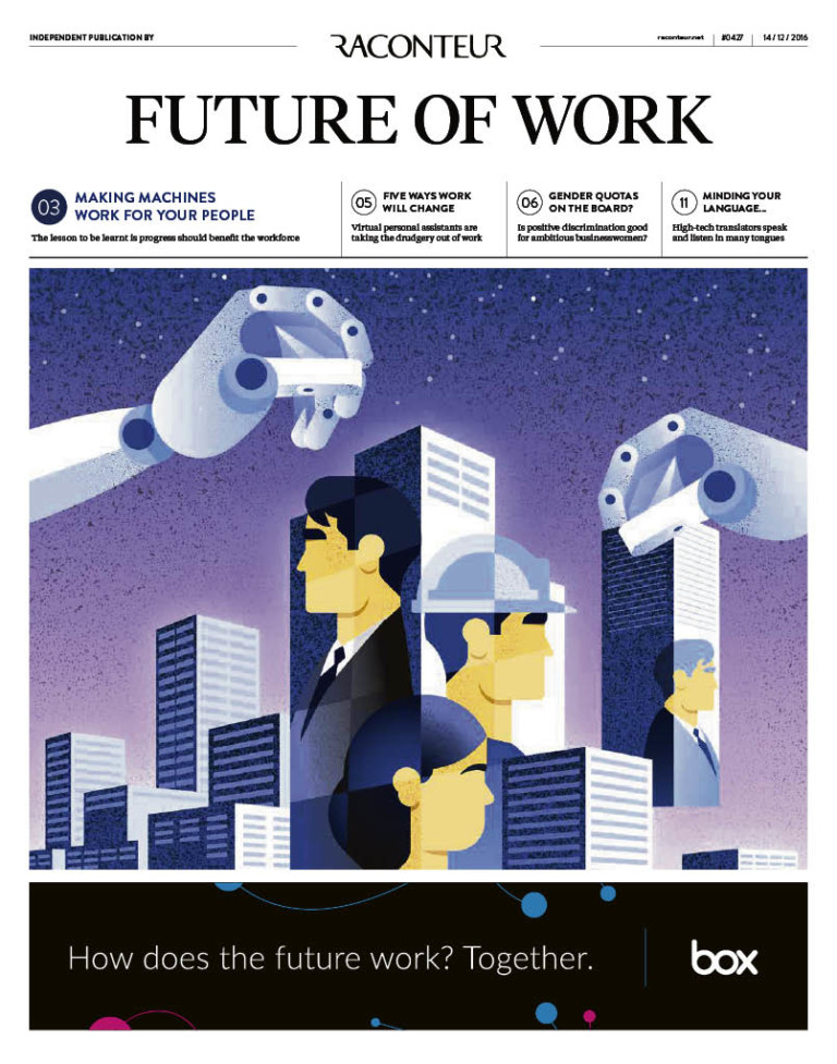Future of Work 2016 Special Report cover