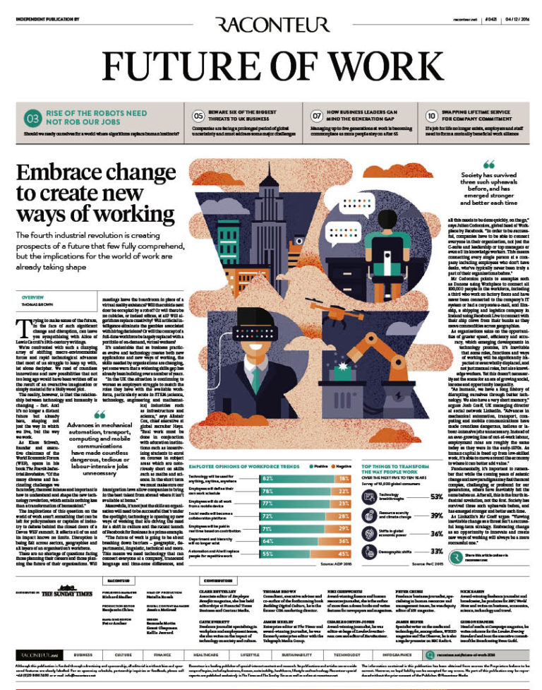 Future of Work Special Report cover