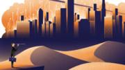 Future of banking illustration