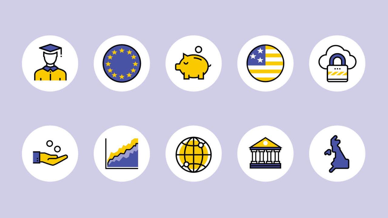 Symbols representing CFO issues