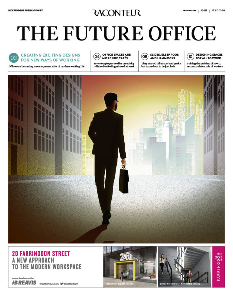 The Future Office Special Report cover