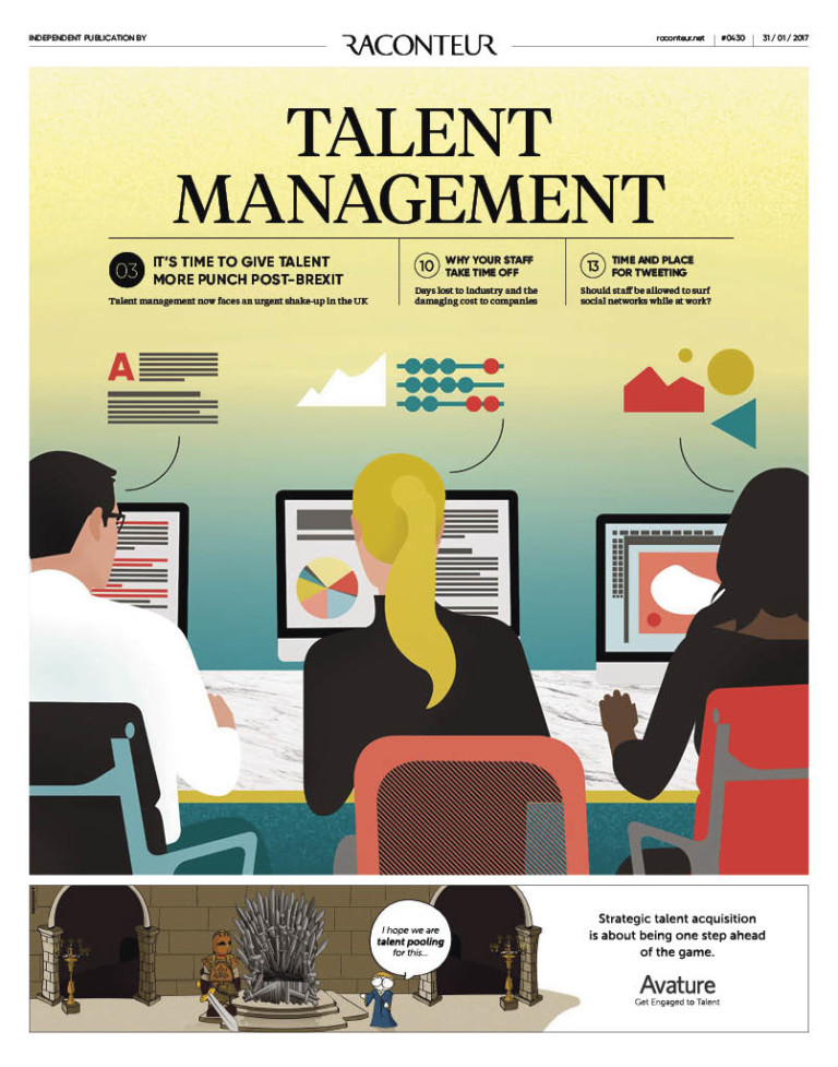 Talent Management Special Report cover