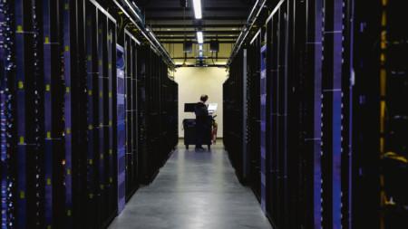 Hall of data servers